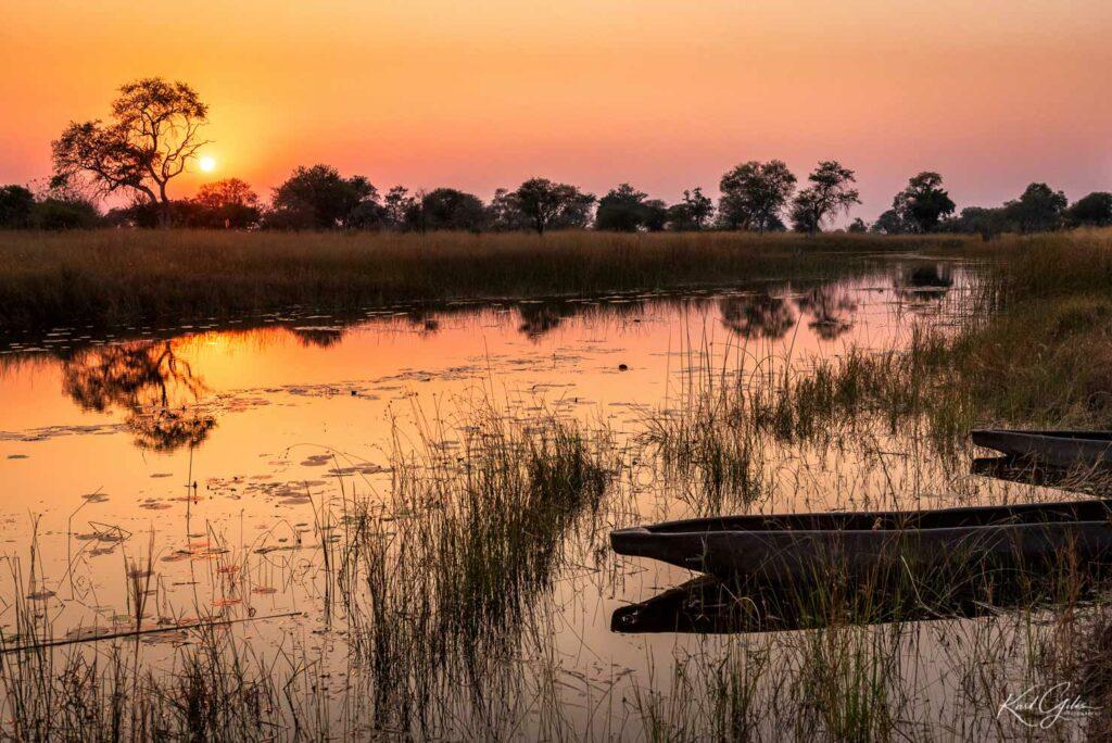 Fotoreis door Caprivi, Namibië